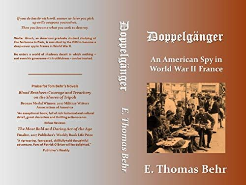 Doppelgänger An American Spy in World War II France Kindle