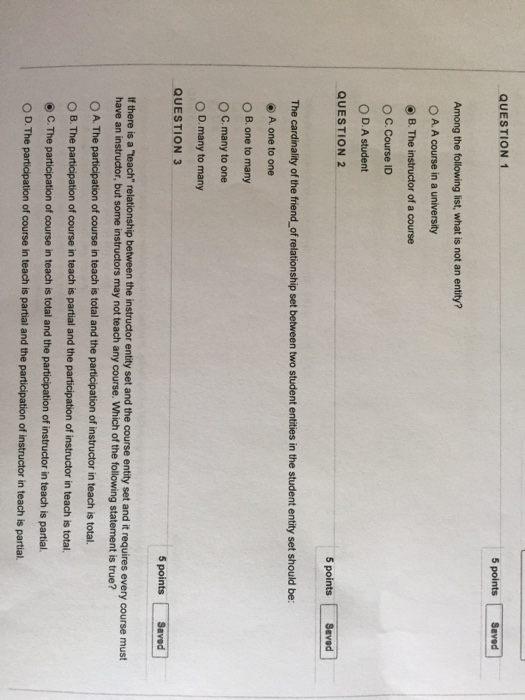 Lit 2 Ans Meilleur De solved Question 1 5 Points Saved Among the Following List