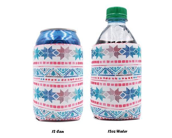 Lit 2 En 1 De Luxe Slim 12oz Energy Drink Bottle Cooler Lit Can Coolers