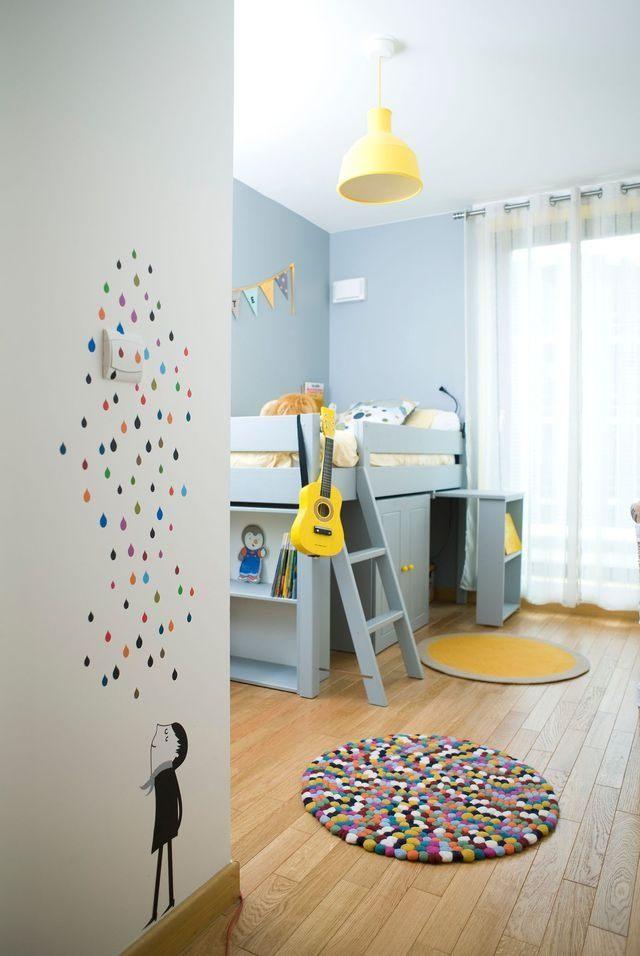 Lit 2 Places Enfant Meilleur De Etagere Murale Chambre Enfant élégant Deco Murale Chambre Bebe