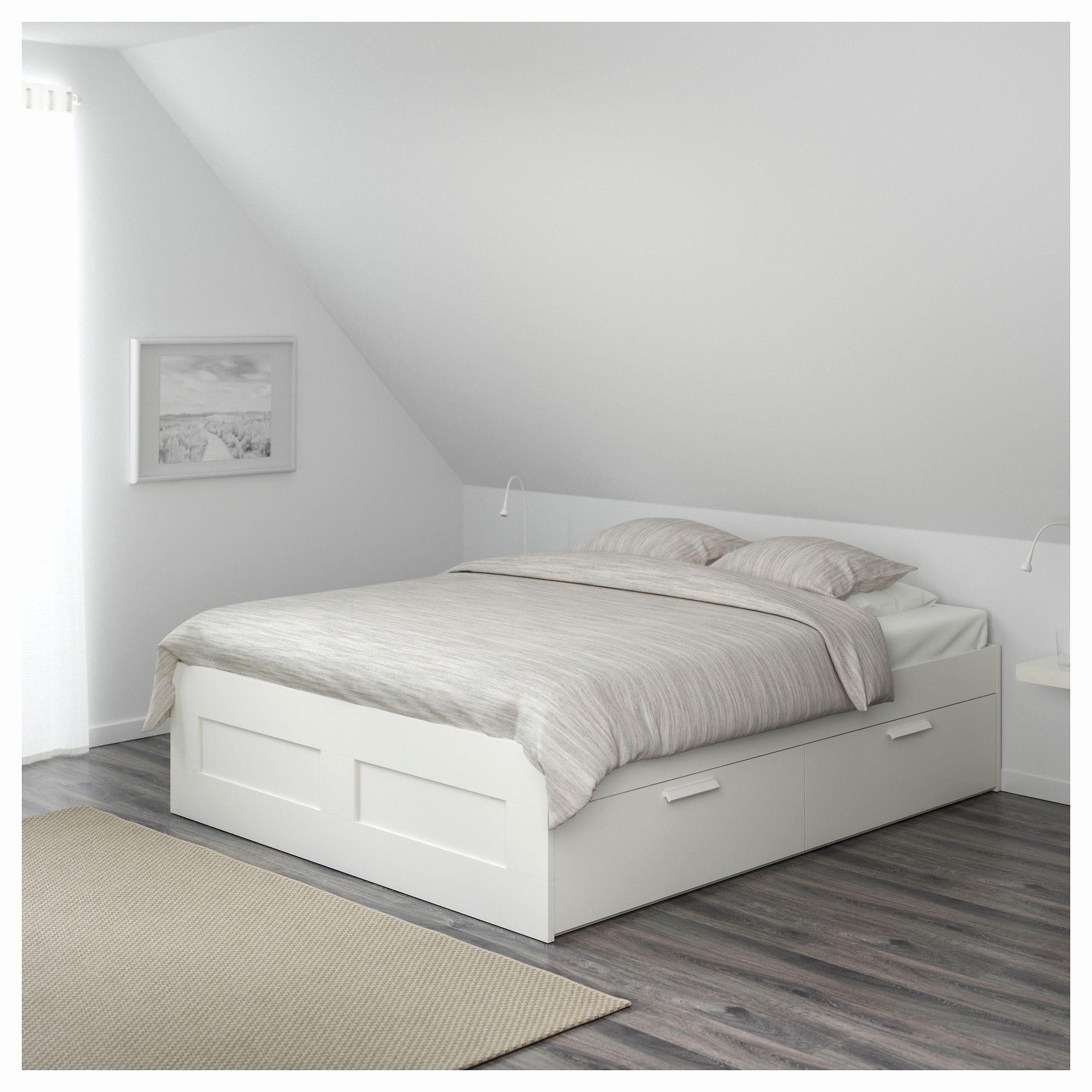 Lit 2 Places Rangement Frais Lit Blanc 2 Places Nouveau Lit 2 Places Avec Rangement Ikea Brimnes