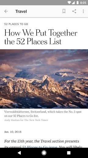 NYTimes Latest News Apps on Google Play