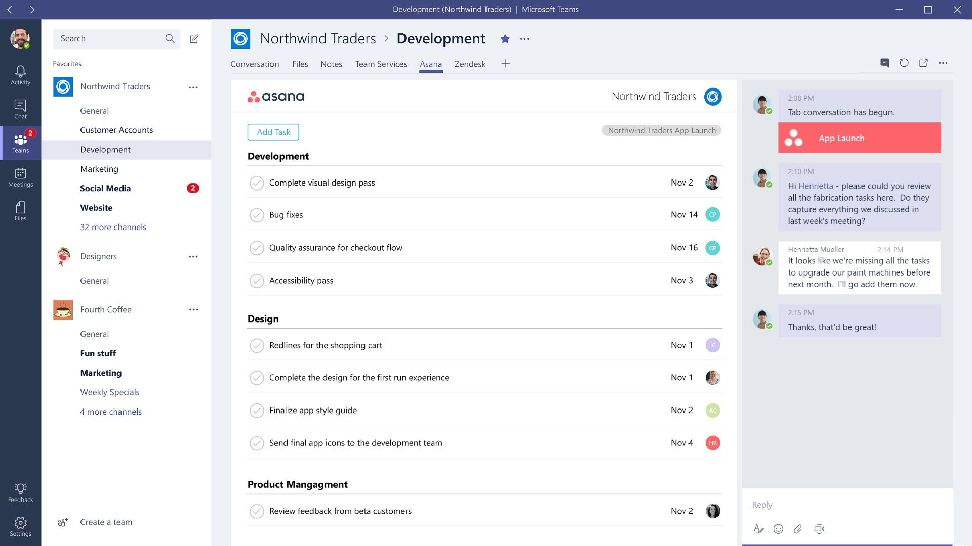 Add tabs to Microsoft Teams apps Teams