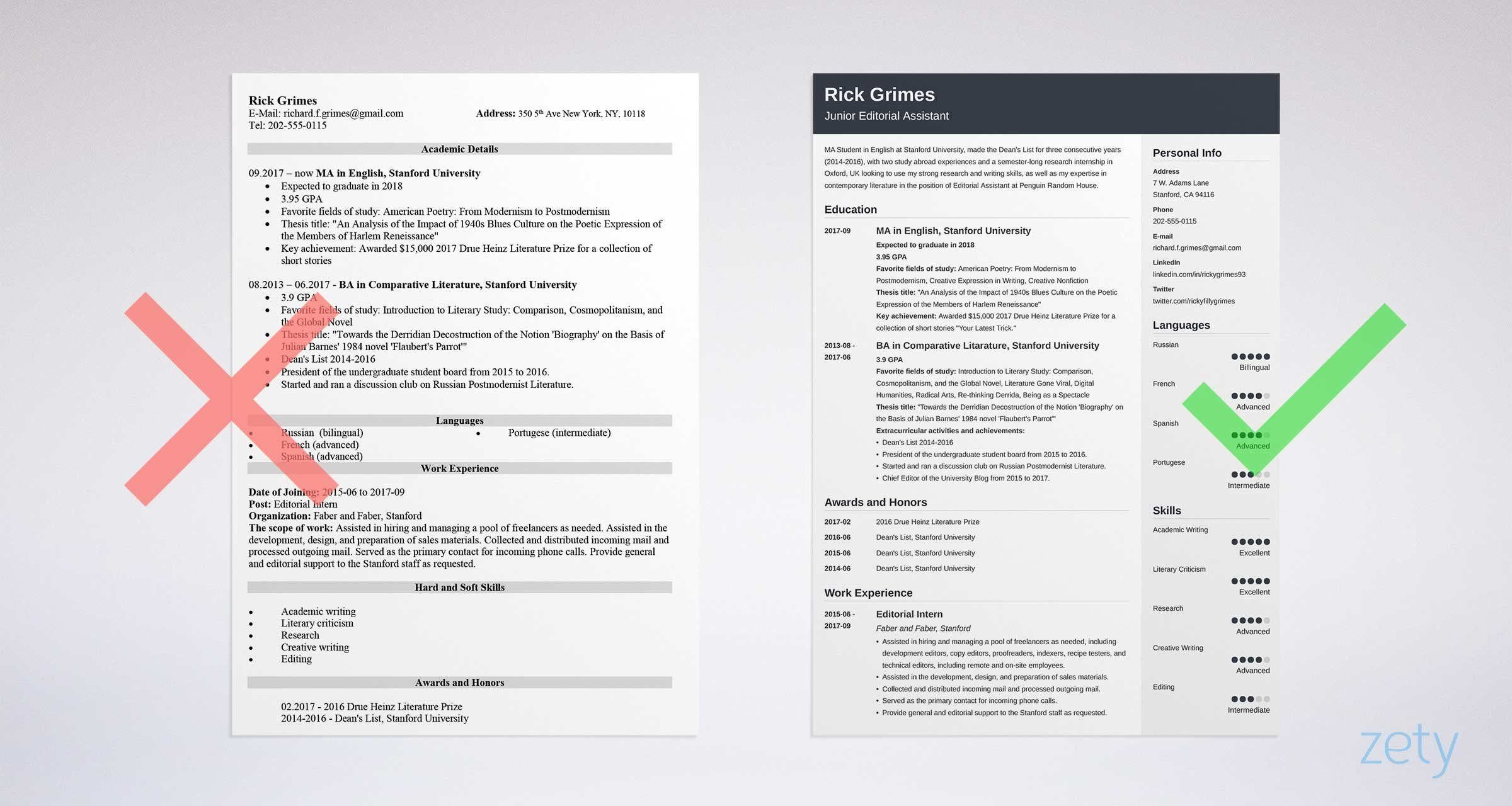 Lit à 2 Places Inspiré Entry Level Resume Sample And Plete Guide [ 20 Examples]