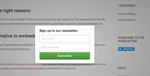 Lit à 2 Places Le Luxe Add A Subscribe button to Your Website