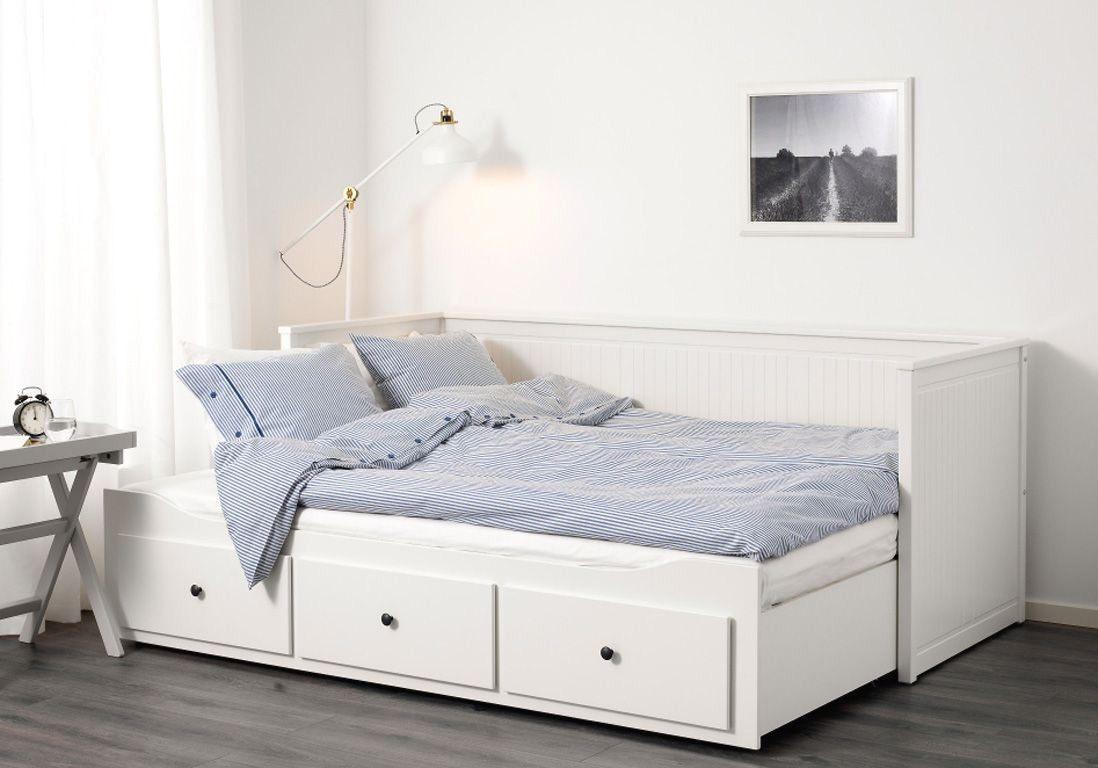 Lit à Tiroir Ikea Charmant Malm High Bed Frame 2 Storage Boxes Queen Luröy Black Brown Ikea