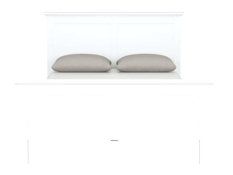 Lit Adulte 160×200 Douce Lit Blanc Adulte Lit Blanc Adulte Avec Rangement – Medicineinneed