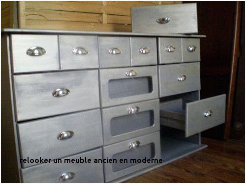 Lit Ancien Bois Fraîche Relooker Meuble Ancien En Moderne Collections De Dessins Buffet