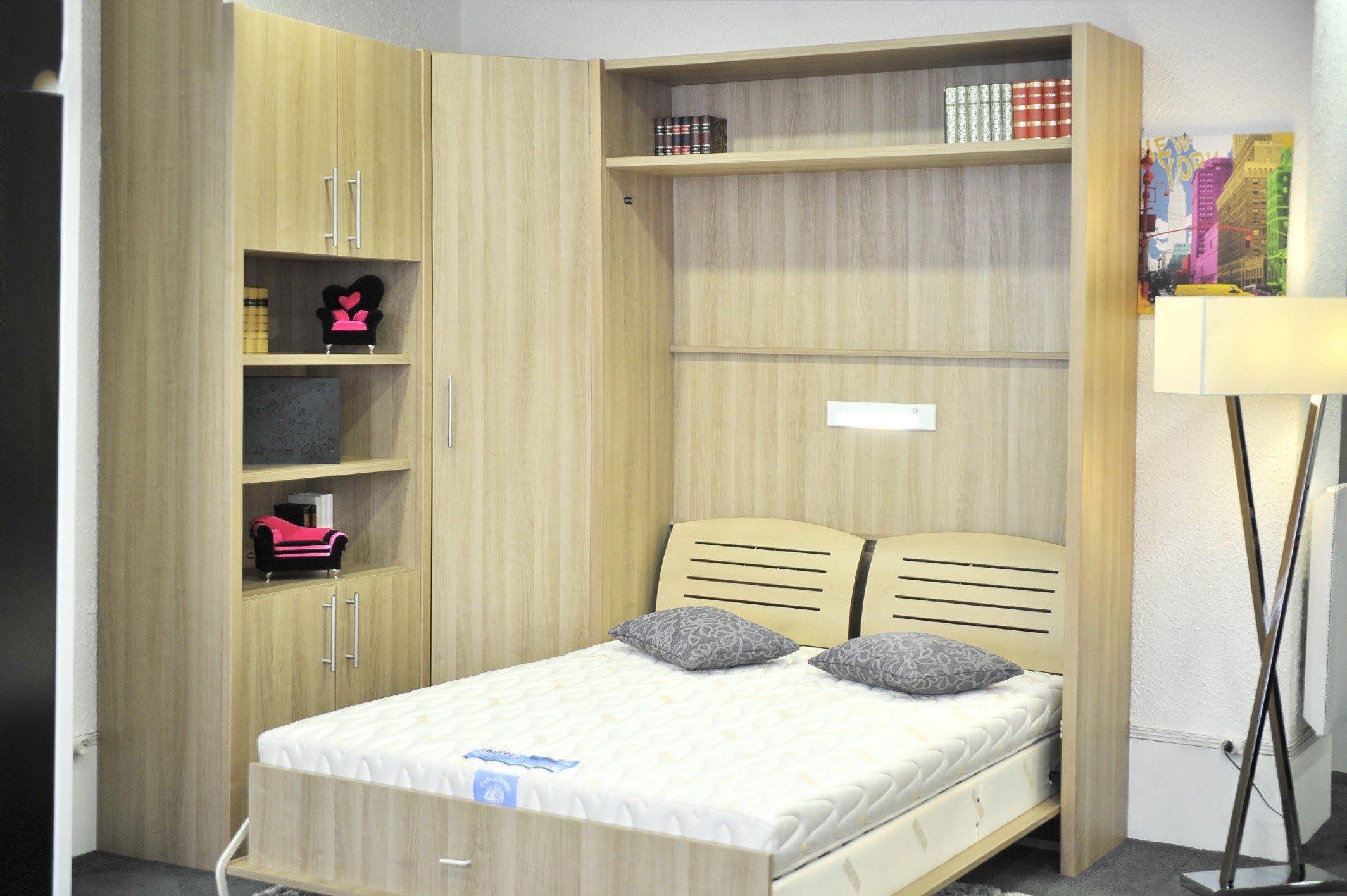 Lit Armoire Escamotable Ikea Élégant Lit Rabattable 2 Personnes