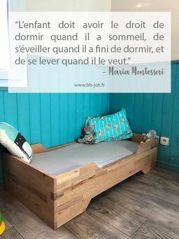 Lit Au sol Bébé Montessori Magnifique Que Faire Des Vªtements Trop Petits De Bébé Bb Joh