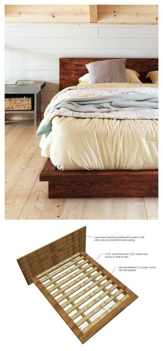 DIY 2x Lumber Bed Ana White