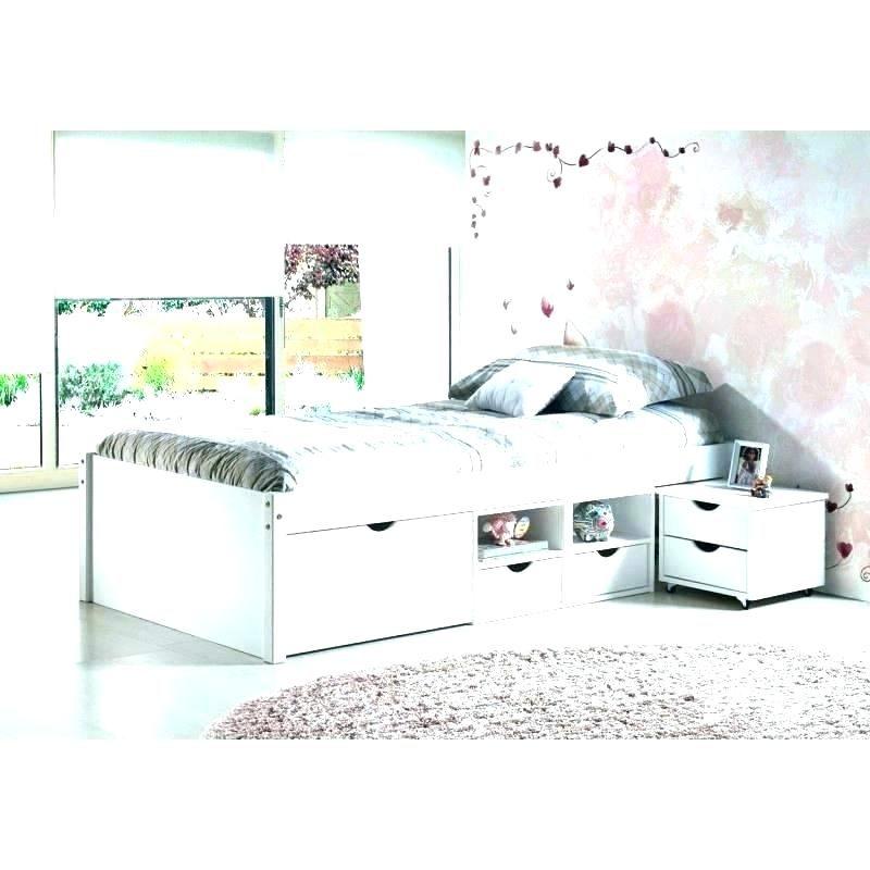Lit Avec Rangement 90×190 Charmant Lit 90 Avec Rangement Lit 90 X 190 Bed with Drawers 90—190 Lit