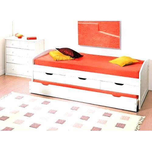 Lit Avec Rangement 90×190 De Luxe Lit 90 Avec Rangement Lit 90 X 190 Bed with Drawers 90—190 Lit