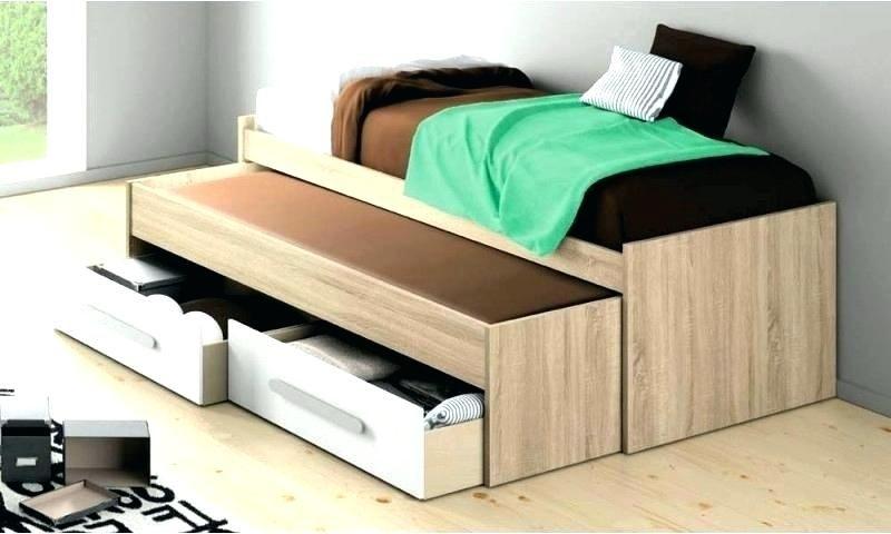 Lit Avec Rangement Conforama De Luxe Lit 90 Avec Rangement Lit 90 X 190 Bed with Drawers 90—190 Lit