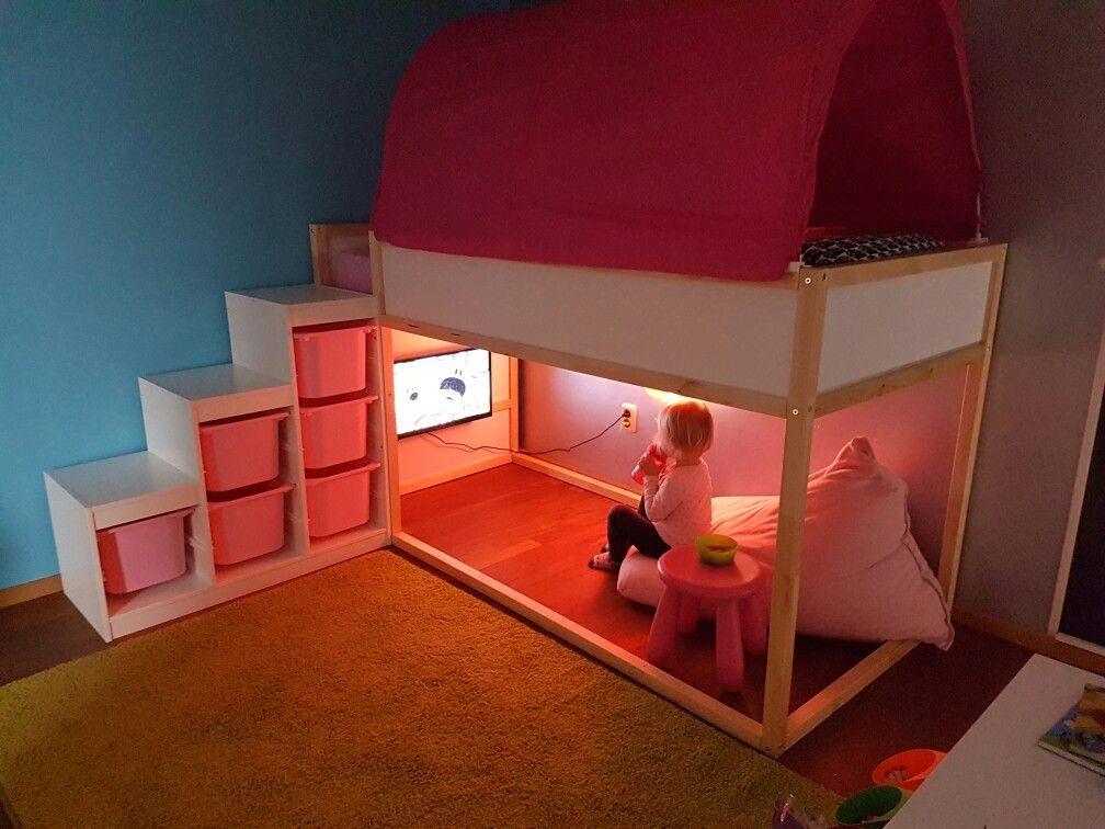 """Lit Avec toboggan Ikea Beau Résultat De Recherche D Images Pour """"chambre Hackers Ikea"""