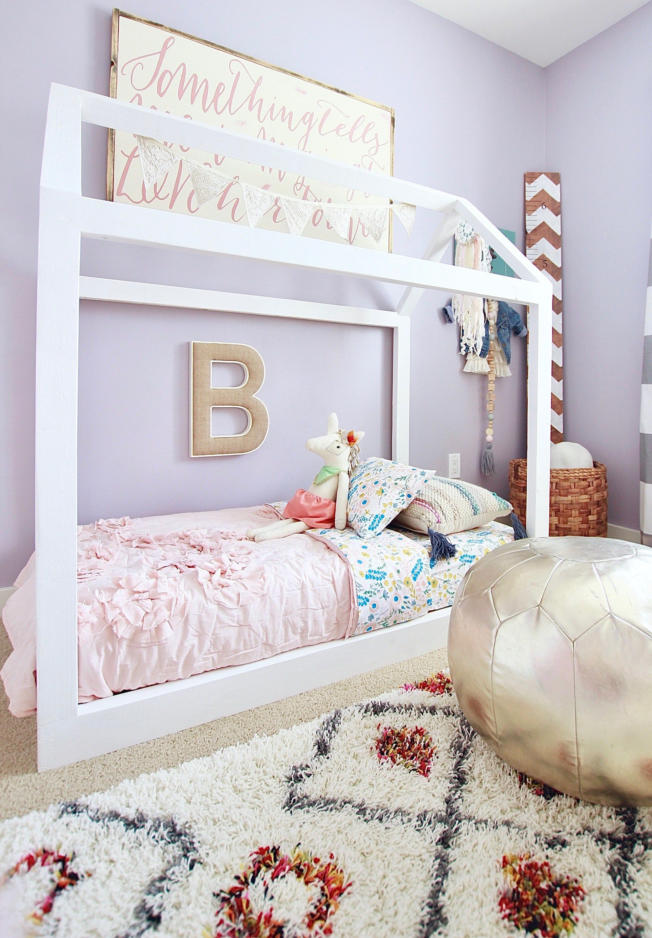 Lit Bas Enfant Beau Our Super Easy Diy toddler House Bed This Bed took Under 2 Hours