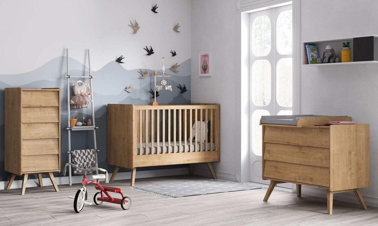 Lit Bébé 140×70 Charmant Meuble Chambre Bébé