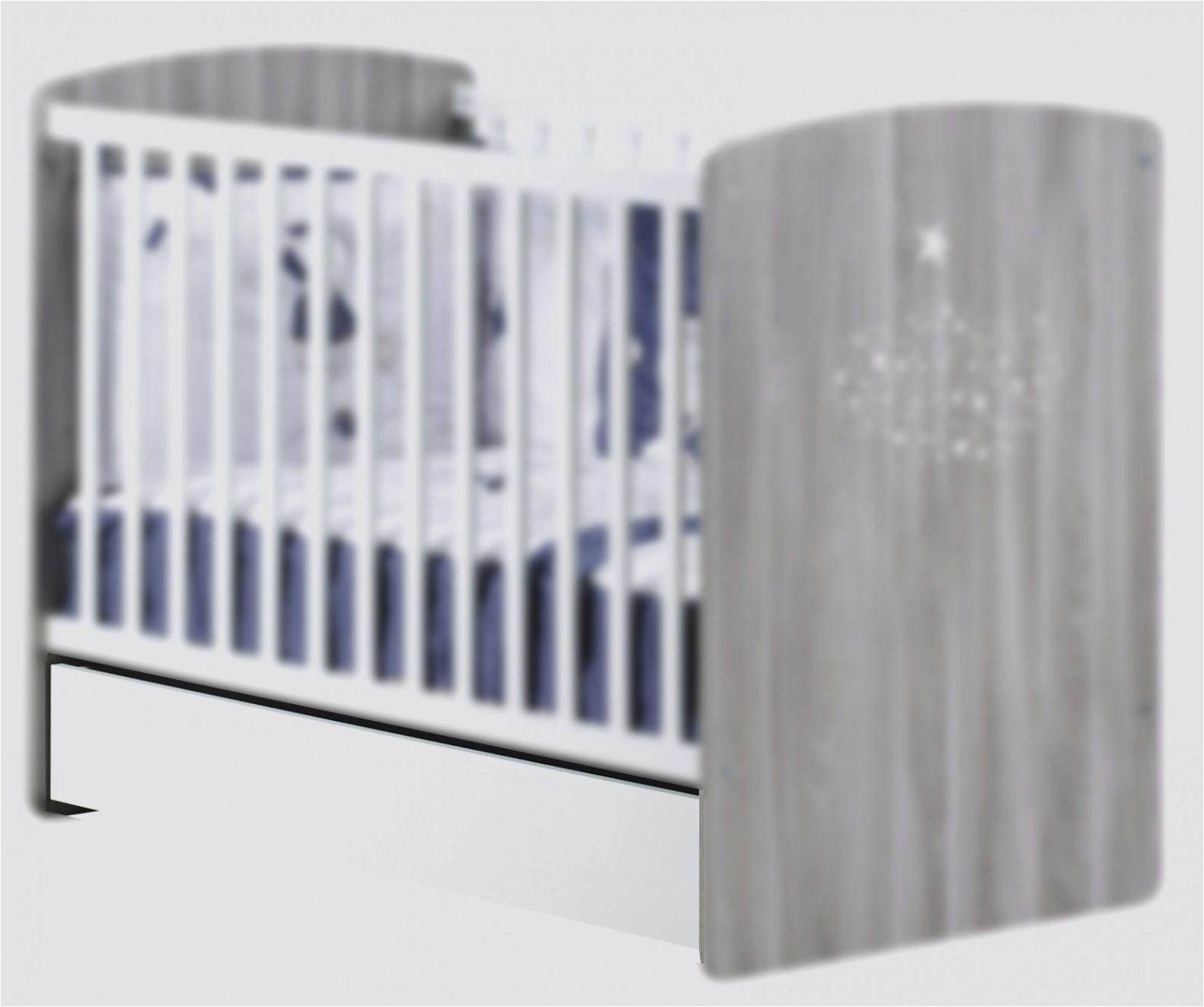 Ahuri Lit Bebe 70x140 Evolutif Berceau Bebe Blanc — Laguerredesmots