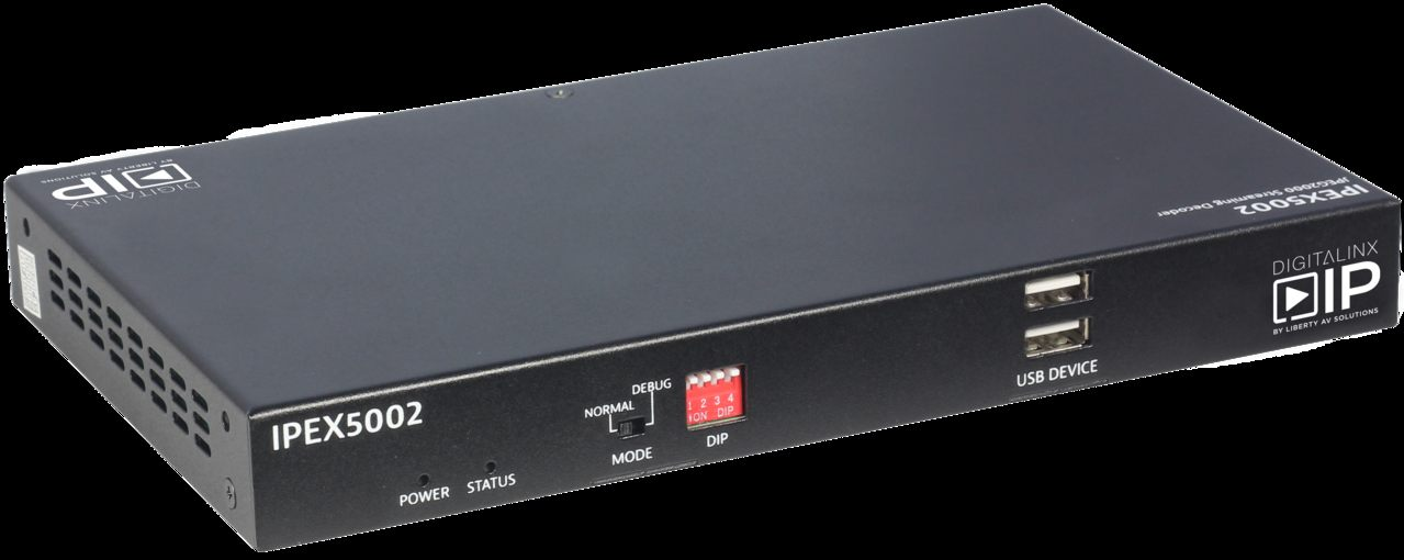 IPEX5002 HDMI Over IP Decoder Scalable 4K Solution over 1Gb