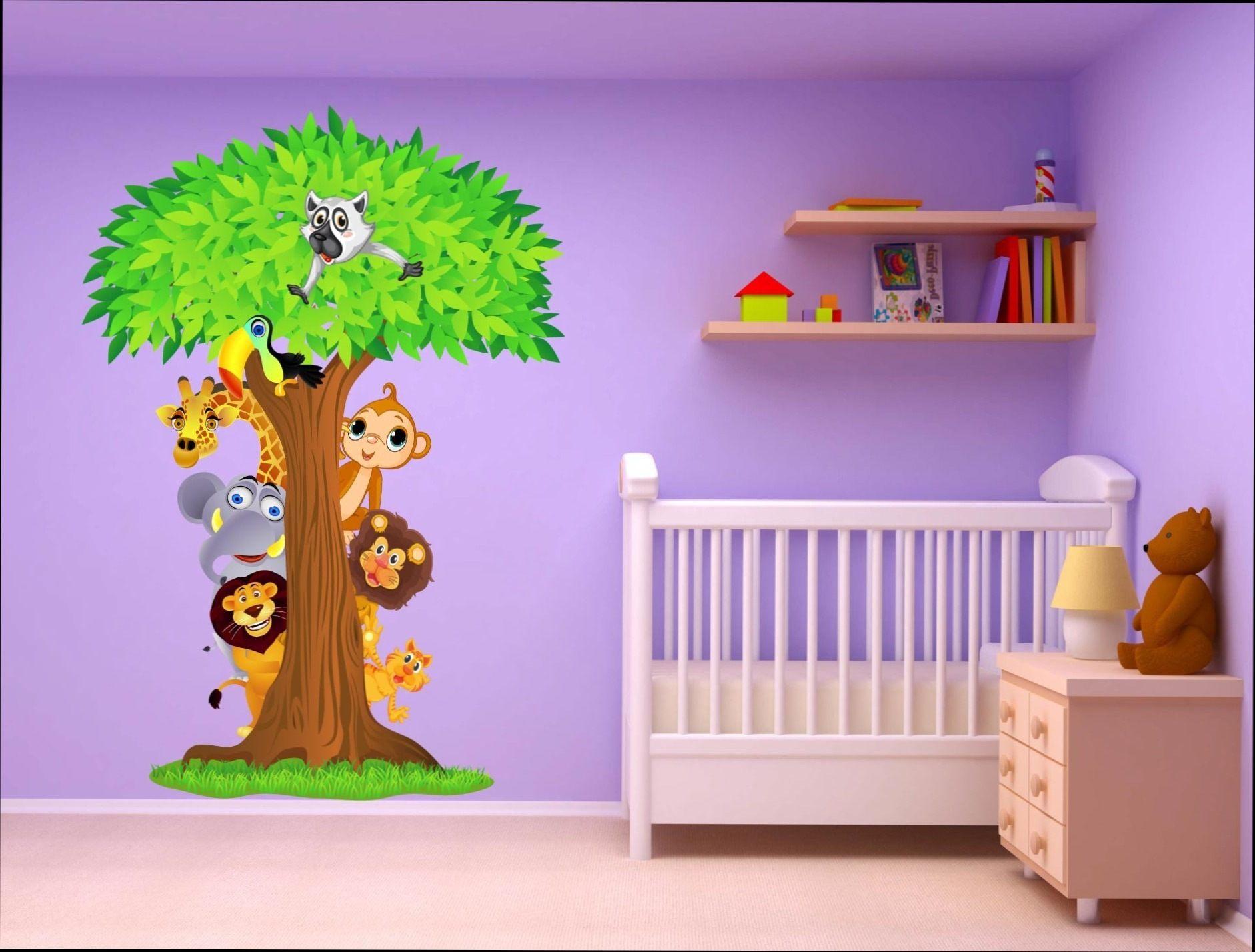 Lit Bébé Avec Rangement Fraîche Stickers Muraux Chambre Bébé Bon Chambre B Fille Lit Cododo L Gant