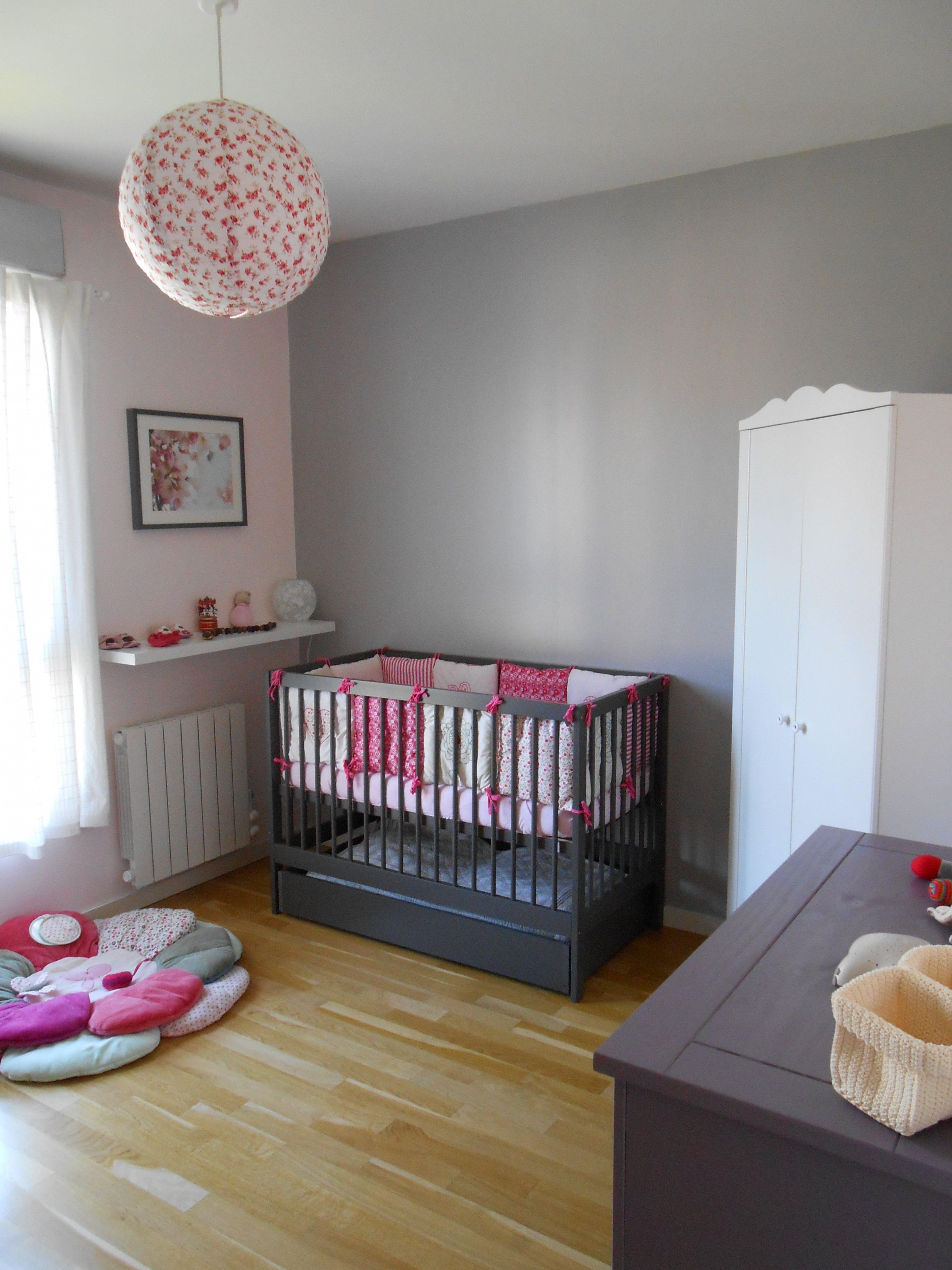 Lit Bébé Berceau Agréable Lesmeubles Meuble Chambre Bébé — Lesmeubles