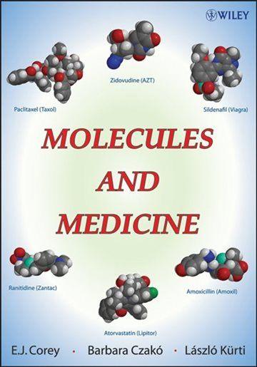 Lit Bébé Bio Douce Molecules and Medicine Book by E J Corey Paperback