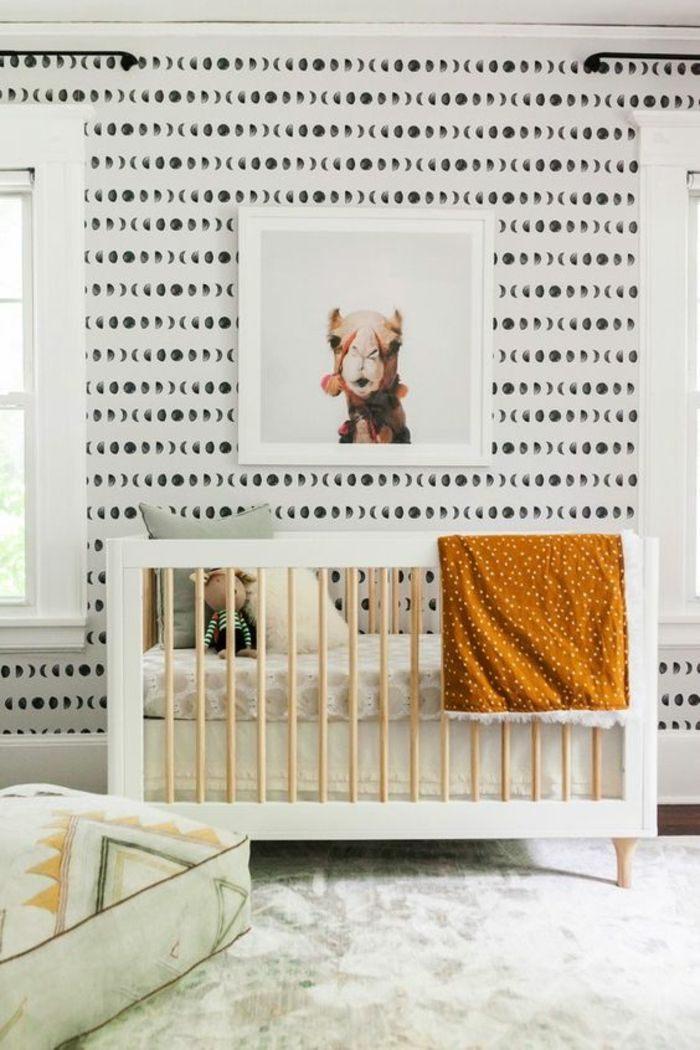 Lit Bebe Blanc Douce ▷ 1001 Idées Pour La Décoration Chambre Bébé Fille Ment