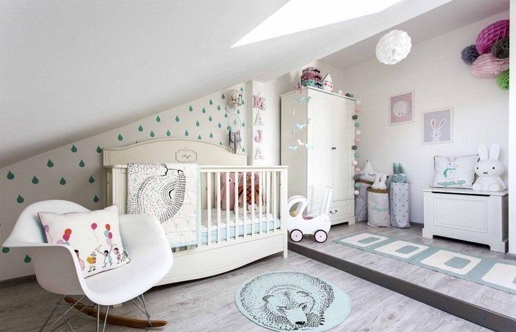 Lit Bébé Capitonné Fraîche O Deco Chambre Bebe