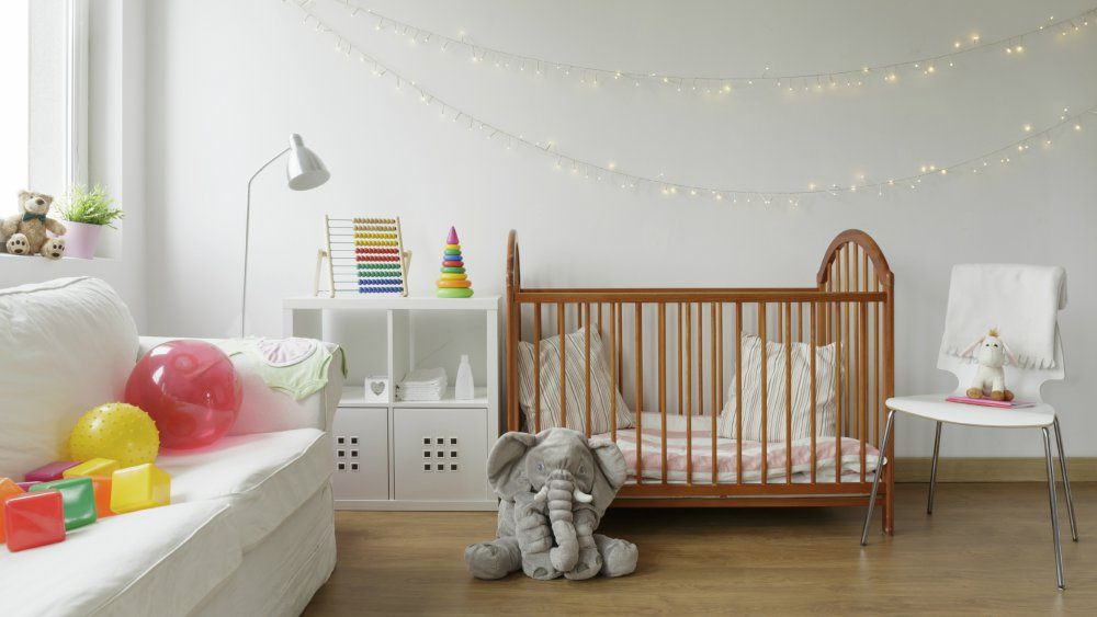 Lit Bébé Capitonné Luxe O Deco Chambre Bebe