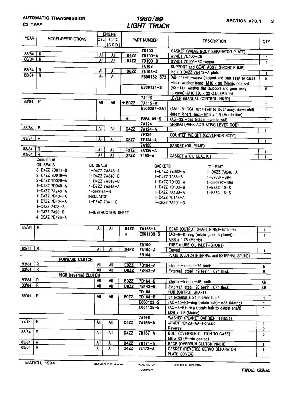 Lit Bébé Combiné Luxe Fps 8472 A Text 1980 89 Light Truck March Pdf
