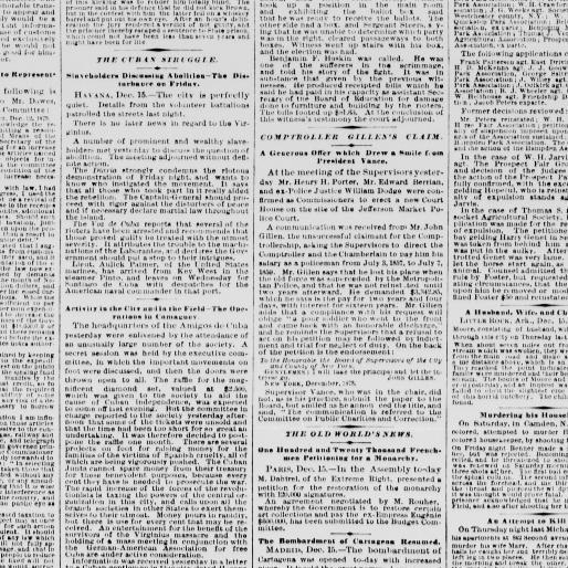 Lit Bébé D Appoint Charmant the Sun New York [n Y ] 1833 1916 December 16 1873 Image 1