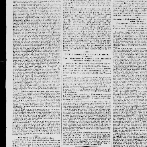 Lit Bébé D Appoint Génial the Sun New York [n Y ] 1833 1916 December 16 1873 Image 1