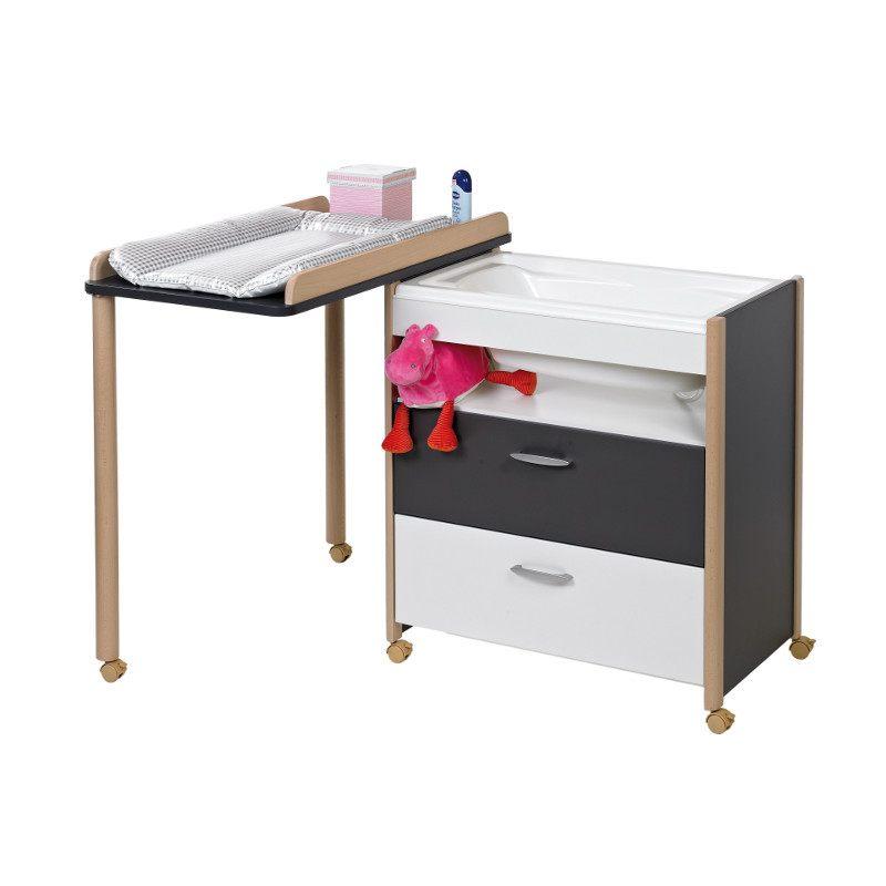 Nouveau Table Langer Avec Rangement Plan A Langer Baignoire Maison