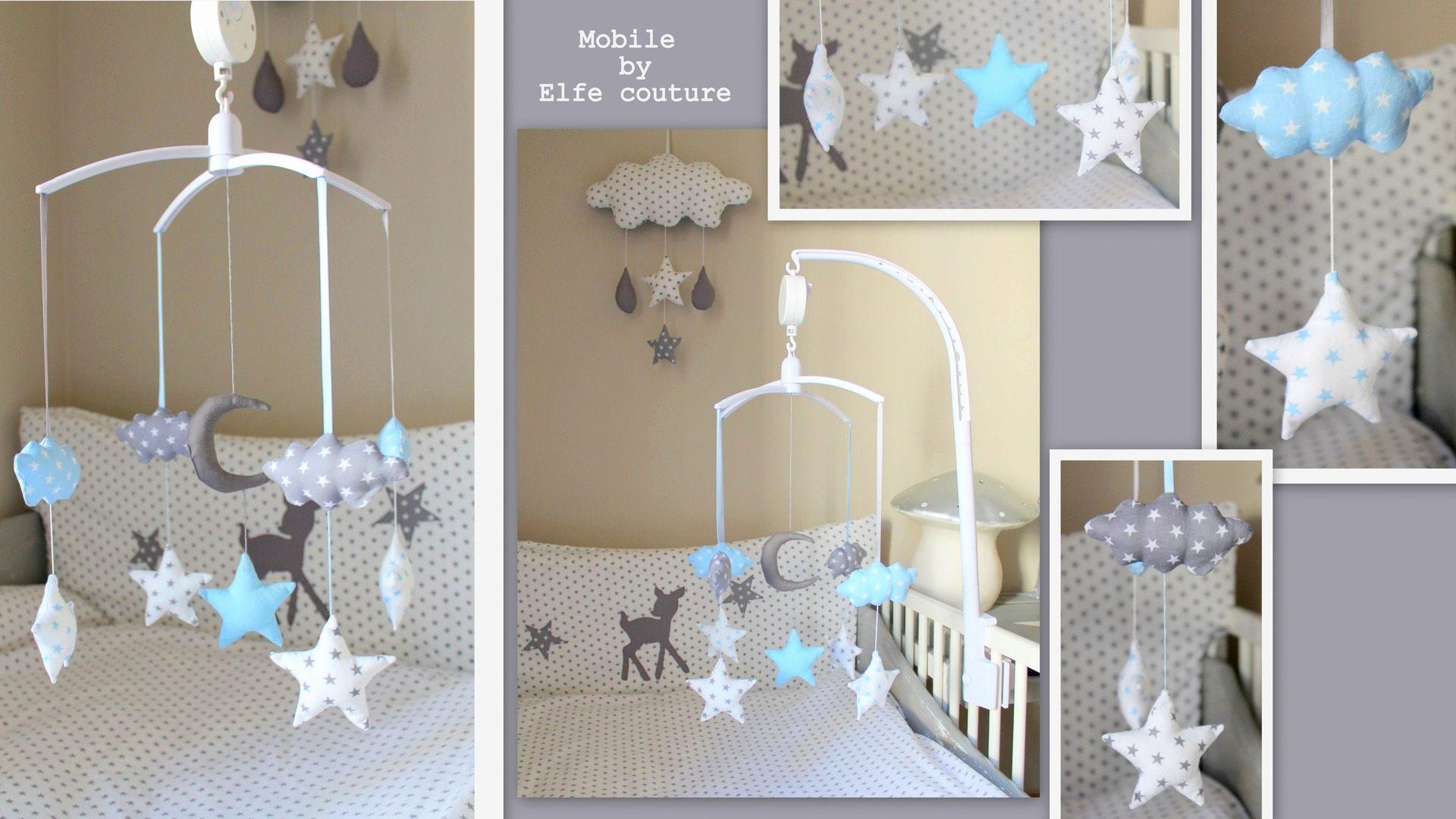Lit Bebe Etoile Bel Chambre Bebe Etoile Luxe tour De Lit Bébé Nuage Et étoile Gris Blanc