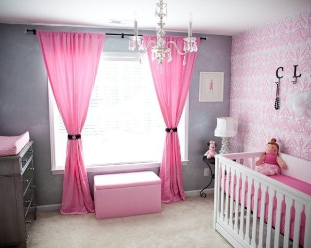 Lit Bebe Fille Génial Chambre Bébé Fille En Gris Et Rose 27 Belles Idées  Partager