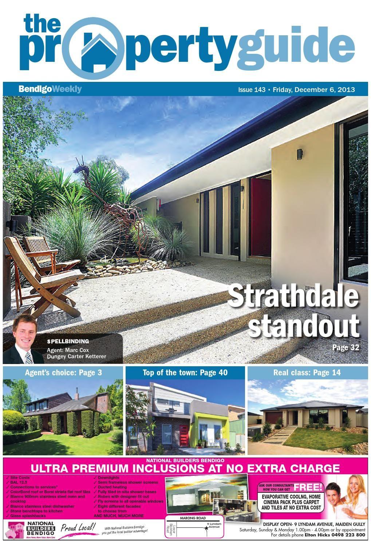 Lit Bébé Fly Bel Bendigo Weekly Property Guide issue 143 Fri Dec 6 2013 by