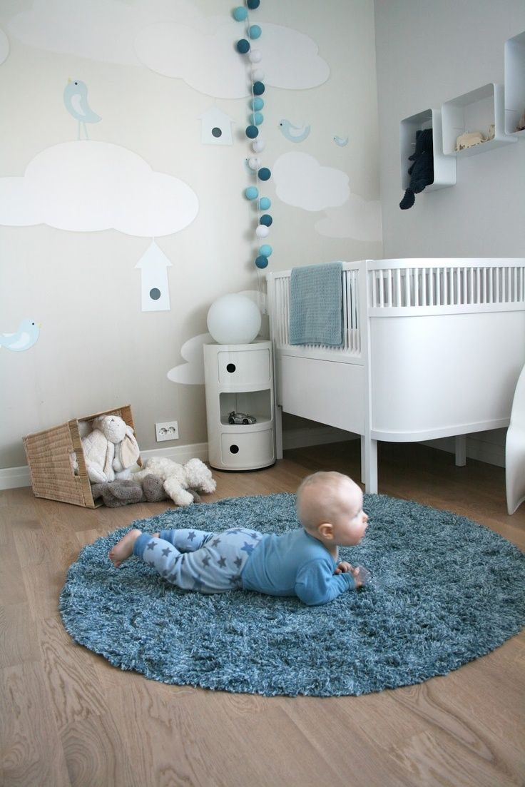 Lit Bebe Gris Frais Une Décoration tons Bleu Blanc Et Gris Pour Une Adorable Chambre De