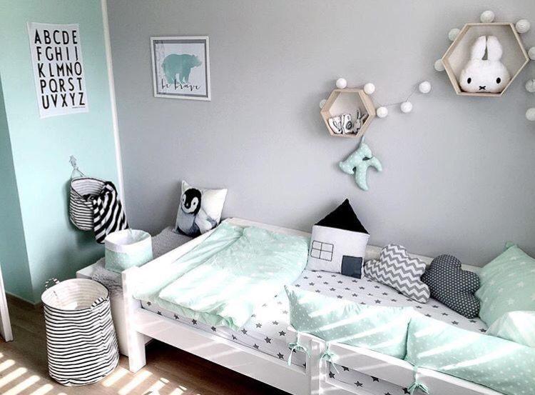 Lit Bebe Gris Magnifique Murs Vert Gris Chambre Bébé Intérieurs Pinterest
