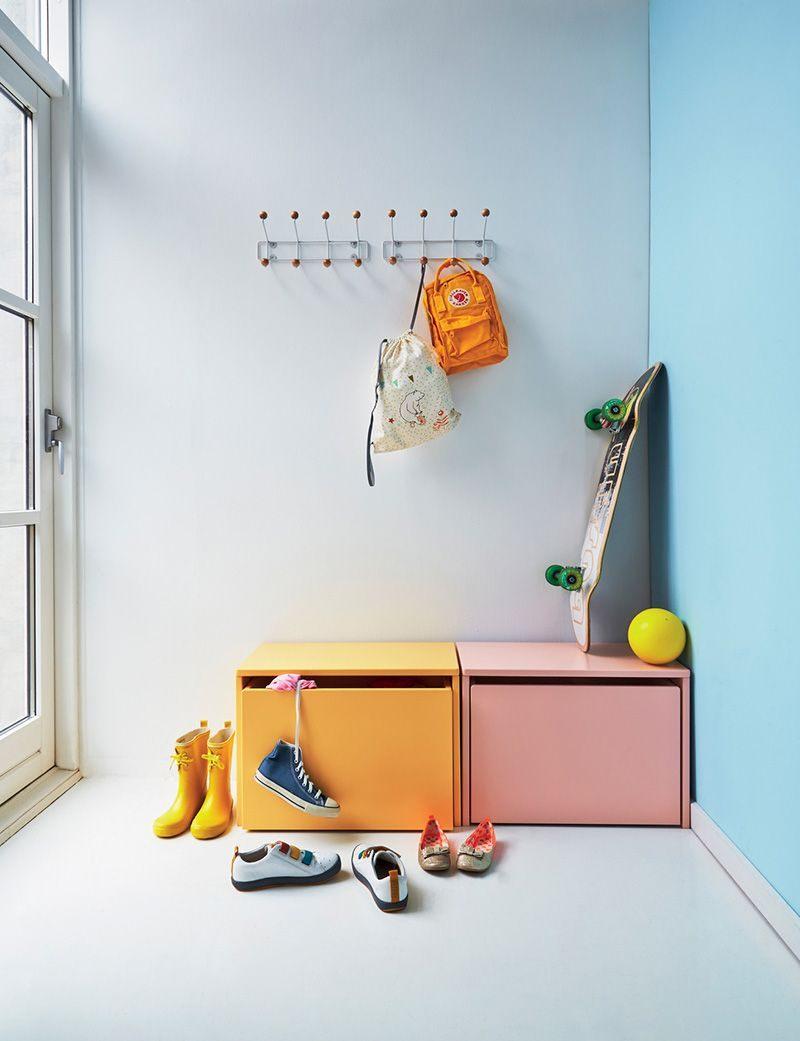 Lit Bebe Metal De Luxe Coloured Furniture In Kids Rooms by Kids Interiors