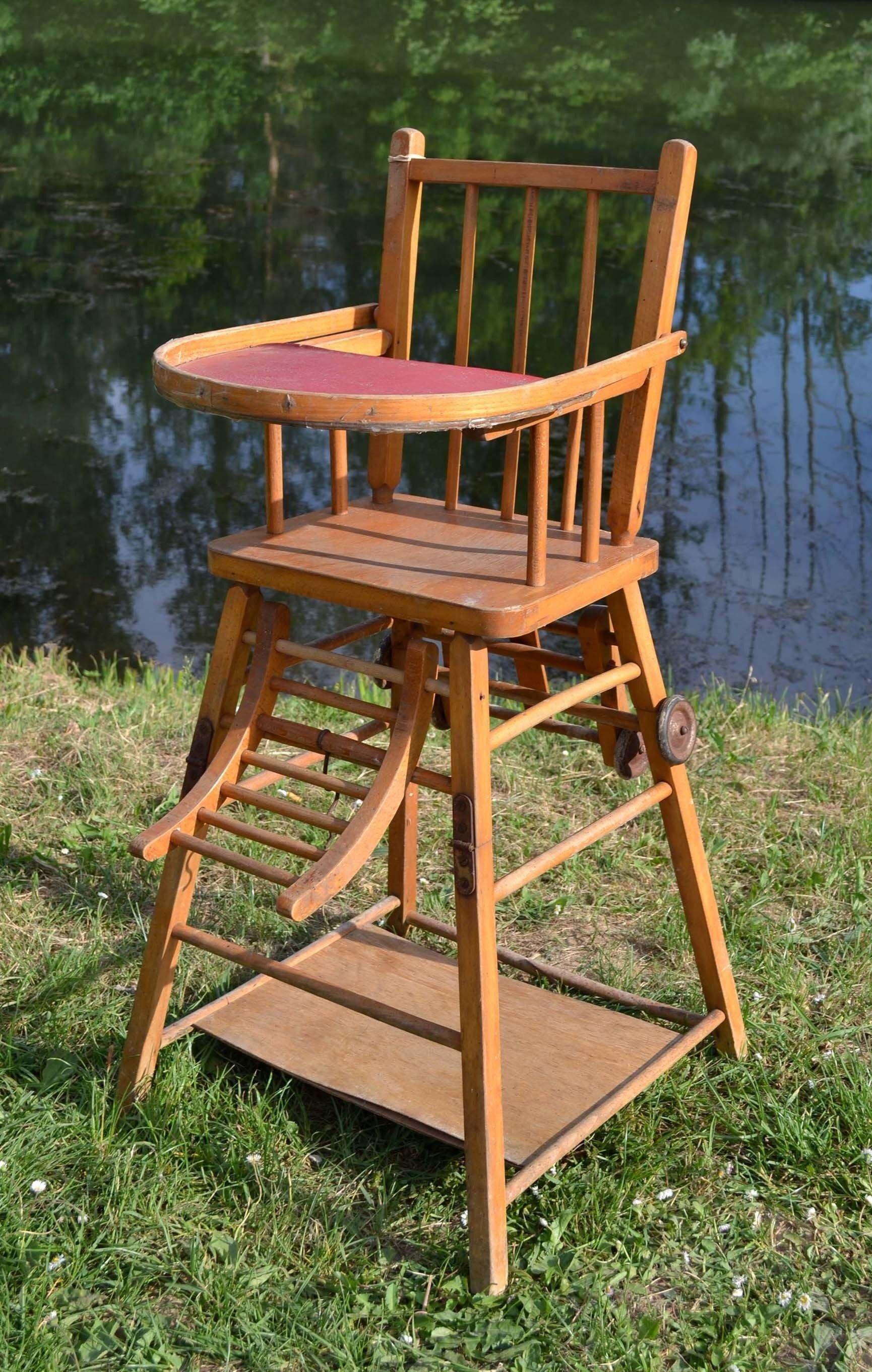 Lit Bébé Pliant Bois Inspirant attrayant Chaise Bébé Design Ou Chambre Bébé Mickey Chaise Haute