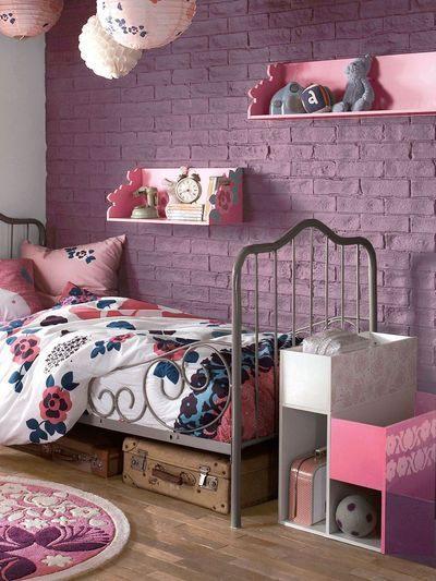 Lit Bebe Rose Élégant Une Chambre De Petite Fille Pour Voir La Vie En Rose