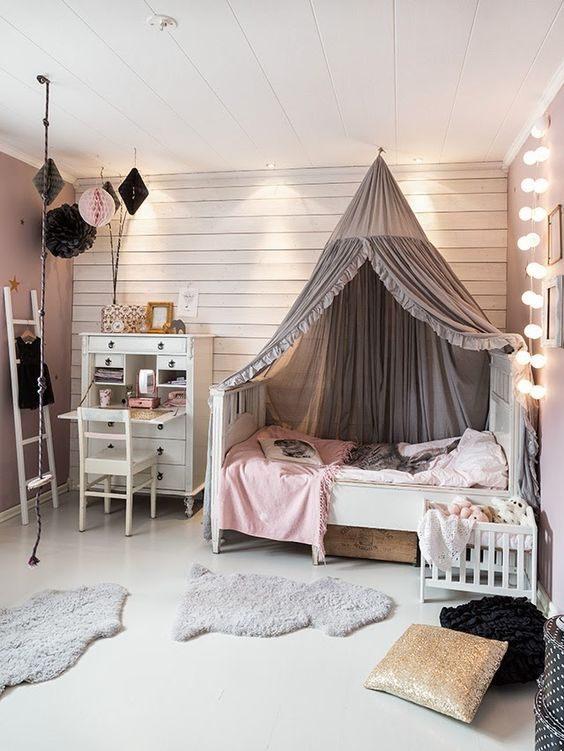Lit Bebe Rose Nouveau 19 Fabulous Canopy Bed Designs for Your Little Princess