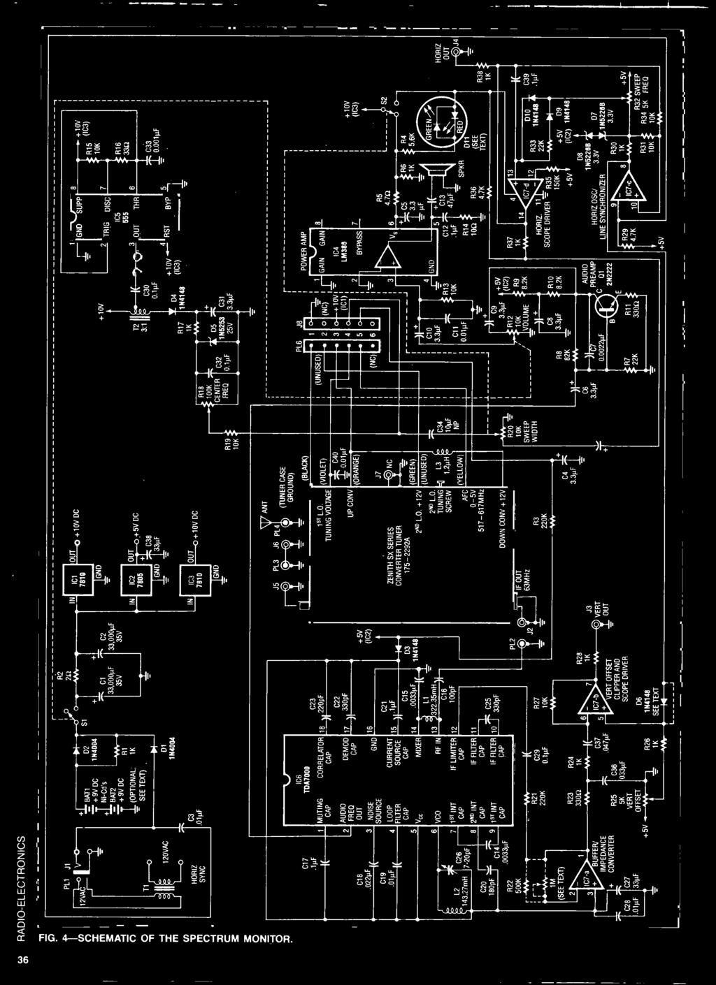 Lit Bébé Roulette Fraîche Ectre Build This Spectrum Monitor Op Ampinstr Architectures the