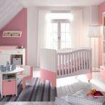 Lit Bébé Roulette Inspirant Meuble Chambre Bébé Chambre Bébé Fille Gris Et Rose Beau Parc B C3