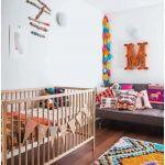 Lit Bébé Scandinave De Luxe Unique Chambre Bébé Jumeaux Lit De Bébé Rideau Enfant Pas Cher 10