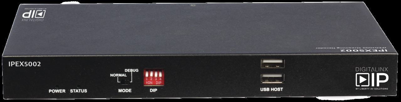 Lit Bébé Transparent Magnifique Ipex5002 Hdmi Over Ip Decoder Scalable 4k solution Over 1gb