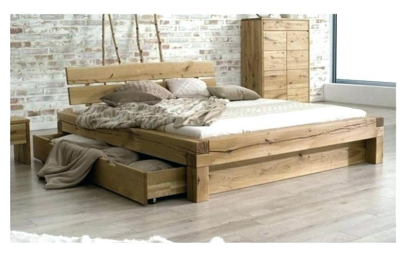 Lit Bois 180x200 Charmant Lit En Bois Simple – Familyliveson