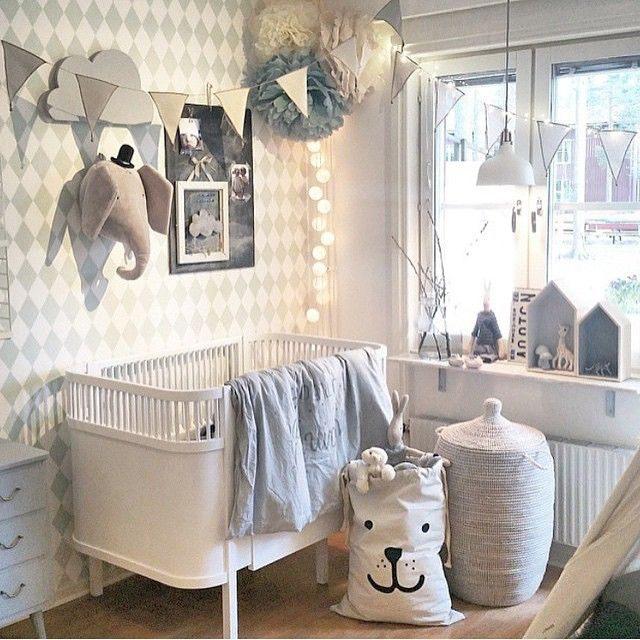 Décoration intérieure Chambre bébé Baby bedroom Nursery