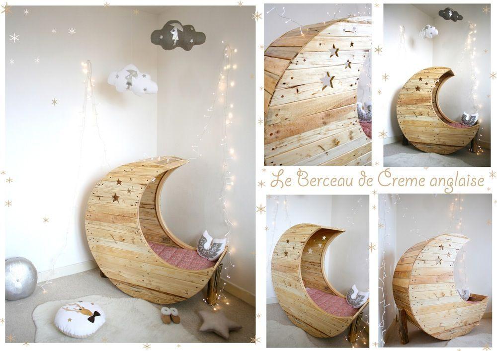 Lit Bois Bebe Fraîche Image Of Le Berceau Lune D Heidi Interior
