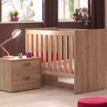 Lit Bois Blanc Bel Délicieux Chambre Enfant Bois Ou Chambre Bébé Bois Massif Lit Bébé